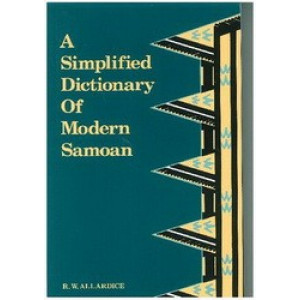 Simplified Dictionary of Modern Samoan