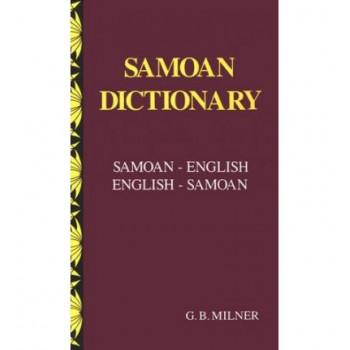 Samoan Dictionary   English - Samoan; Samoan - English