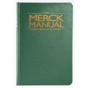 Merck Manual of Diagnosis and Therapy 19E