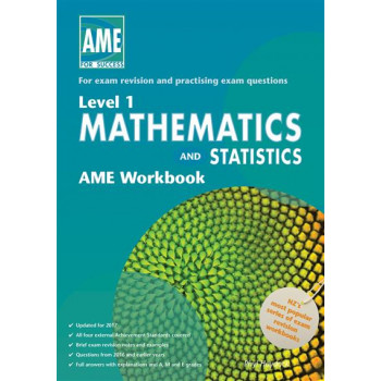 AME Math and Stats Workbook, NCEA Level 1