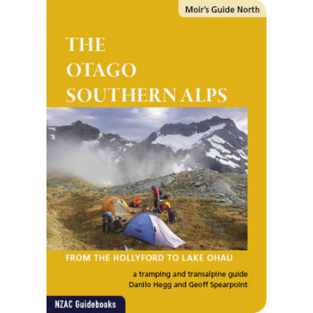 Moir's Guide North : Otago Southern Alps : from the Hollyford to Lake Ohau