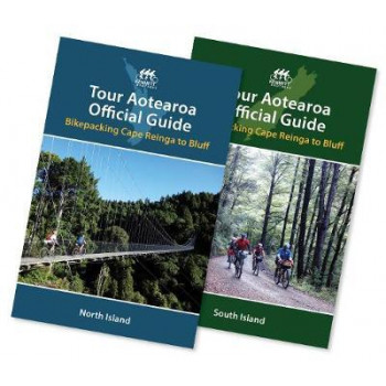 Tour Aotearoa Official Guide: North and South Island twin pack