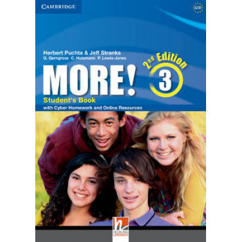 More! Level 3 Student's Book with Cyber Homework and Online Resources