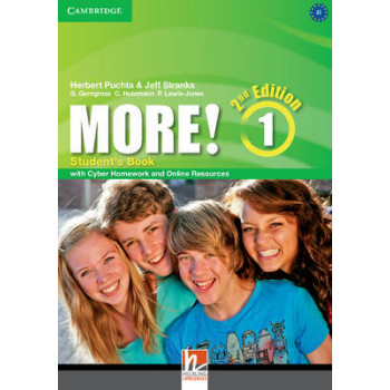 More! Level 1 Student's Book with Cyber Homework and Online Resources