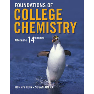 Foundations of College Chemistry (+ WileyPlus registration card)