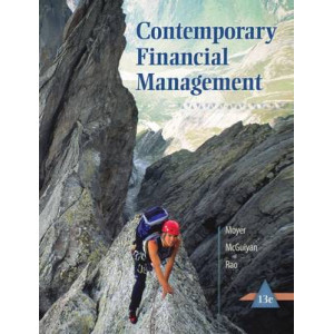 Contemporary Financial Management 13E