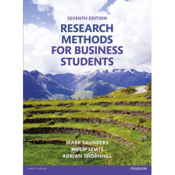 Research Methods for Business Students 7E