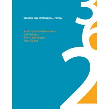 Basic Technical Mathematics with Calculus - 10th International edition