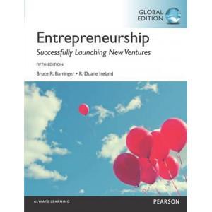 Entrepreneurship, Global Edition (5th ed)