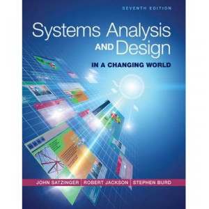Systems Analysis and Design in a Changing World 7E