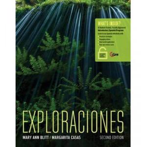Exploraciones, 2E with Ilrn Online Component
