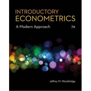 Introductory Econometrics: A Modern Approach (7 edition)
