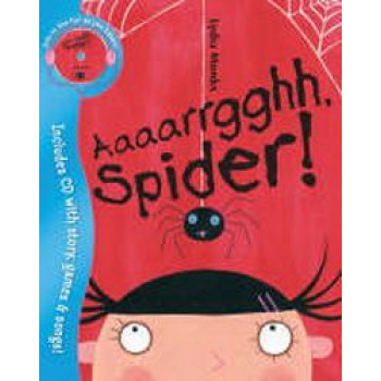 Aaaarrgghh Spider with CD