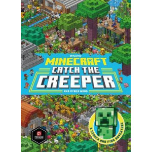 Minecraft Catch the Creeper and Other Mobs:  Search and Find Adventure