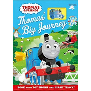 Thomas & Friends: Thomas' Big Journey: Book with toy engine and giant track!