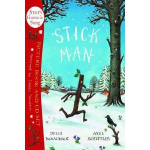 Stick Man : Book & CD