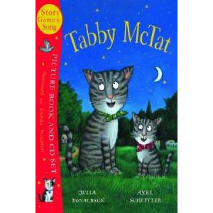 Tabby McTat : Book & CD