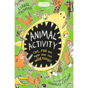 Animal Activity: Cut, Fold and Make Your Own Wild Things