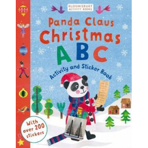 Panda Claus Christmas ABC Activity and Sticker Book