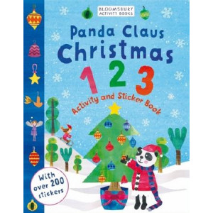 Panda Claus Christmas 123 Activity and Sticker Book