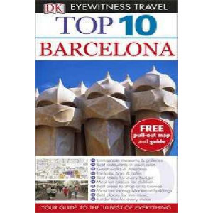 2014 Barcelona Eyewitness Top 10 Travel Guide