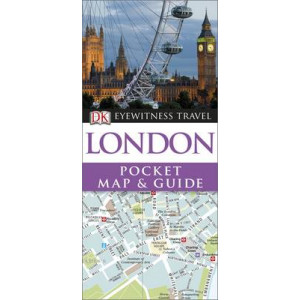 2014 London Eyewitness Pocket Map and Guide: