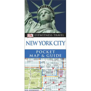 2014 DK Eyewitness Pocket Map and Guide: New York City
