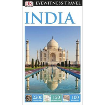 2015 DK Eyewitness Travel Guide: India