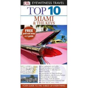 2015 DK Eyewitness Top 10 Travel Guide: Miami & The Keys