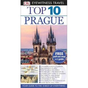 2015 Prague : DK Eyewitness Top 10 Travel Guide