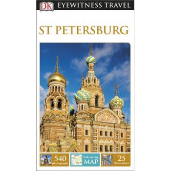 2015 DK Eyewitness Travel Guide: St Petersburg
