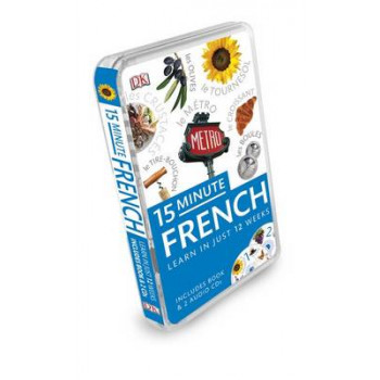 15-minute French Eyewitness Travel Book & CD Pack