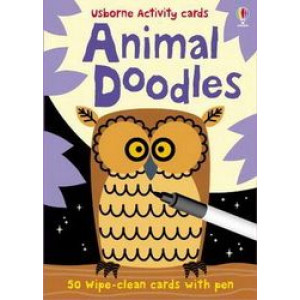 Animal Doodles Activity Cards