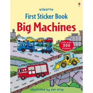 Big Machines Sticker Book