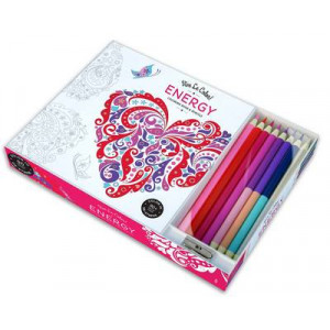 Vive le Color! Energy (Coloring Book and Pencils): Color Therapy Kit