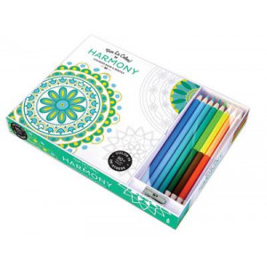 Vive le Color! Harmony (Coloring Book and Pencils): Color Therapy Kit