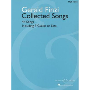 Gerald Finzi Collected Songs: 44 Songs, Including 7 Cycles or Sets