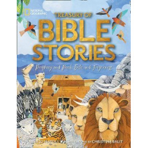 Treasury of Bible Stories: A mosaic of prophets, kings, families, and foes