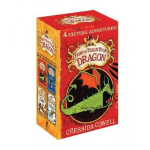 How To Train Your Dragon Books 1-4 ANZ PACK