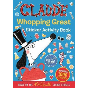 Claude Whopping Great Sticker Activity Book