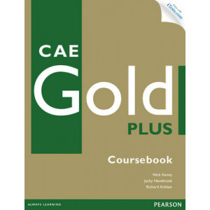 CAE Gold Plus Coursebook with Access Code