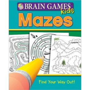 Brain Games Kids: Mazes