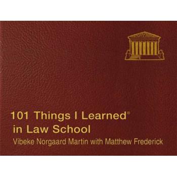 101 Things I Learned in Law School