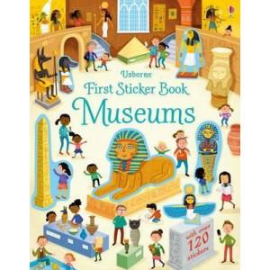 First Sticker Book Museums