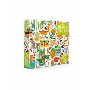 Usborne Jigsaw with a Book: On the Farm
