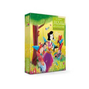 Usborne Jigsaw with a Picture Book Snow White and the Seven Dwarfs
