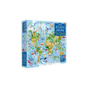 World Map And Jigsaw