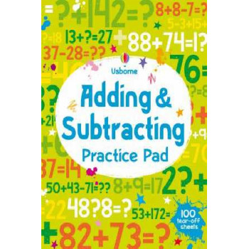 Adding and Subtracting Practice Pad 5-6