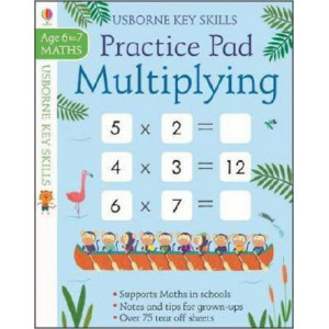 Multiplying Practice Pad 6-7