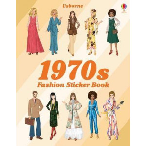 1970s Fashion Sticker Book